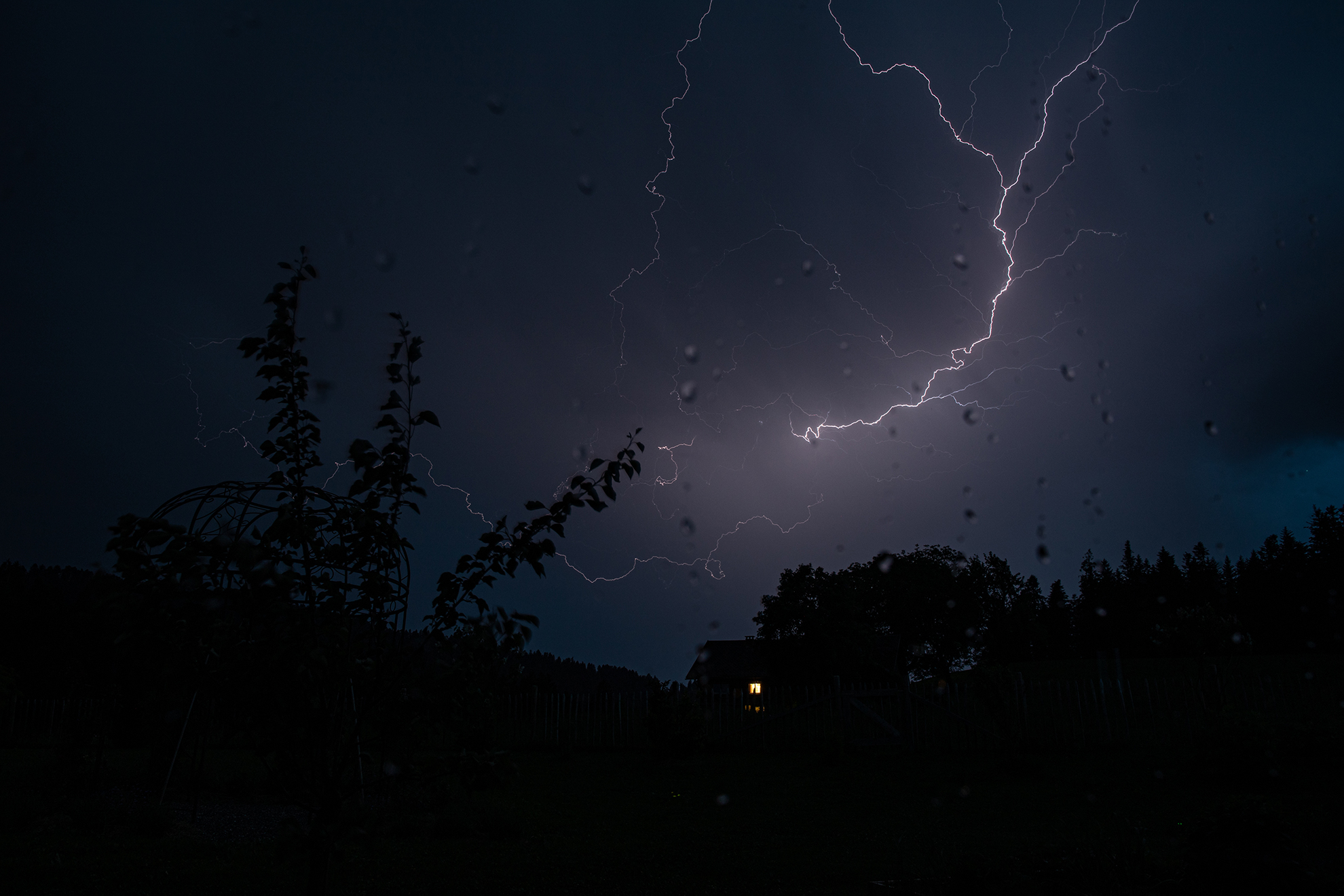 Blitze am 23. Mai 2018